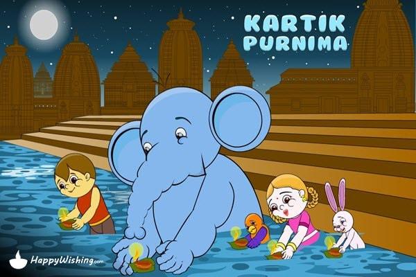 Happy Kartika Poornima Wishes
