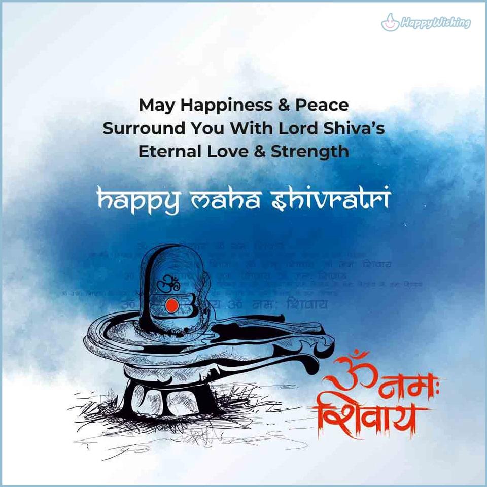 om namah shivaya happy maha shivratri